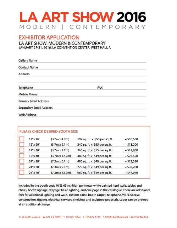 Exhibitor Application Copy