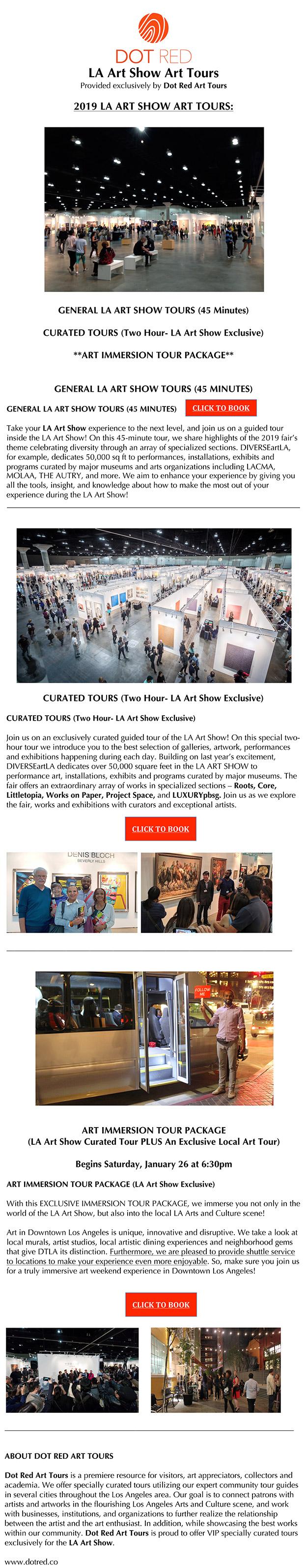 Tours - LA Art Show